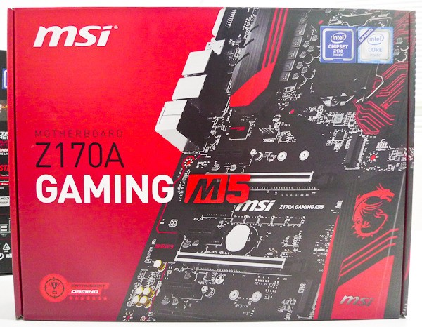 Дънна платка MSI Z170A Gaming M5 box